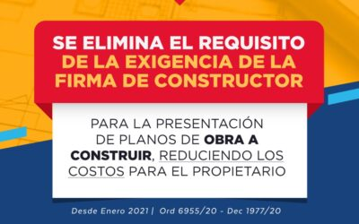 Beneficios para obras a construir